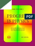 Progress in Physics 2010