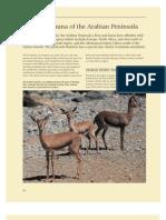 Flora & Fauna of Arabian Peninsula