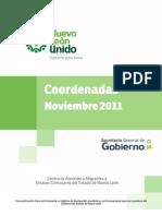 Migrantes | Coordenadas | Noviembre del 2011