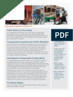 Atlanta Regional Roundtable TIA Fact Sheet