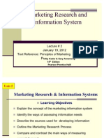 Mkt 201 - Lecture 2 & 3
