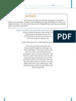 Poetry Worksheet Enhanced