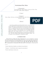 V. Dzhunushaliev, U. Kasper and D. Singleton- Gravitational Flux Tubes