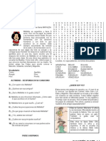 6º ano 1º BIM vol 2 - Mafalda, Llamarse, numeros 1 a 30, Superherois, paises hispanos