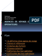 Agences de Voyage Et To