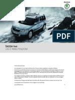 Plugin a SUV Yeti Owners Manual