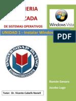 Instalacion de Windows Vista