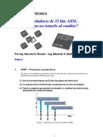 Micro Control Adores de 32 Bits ARM 2