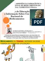 Estratégias de Educação e Informação sobre Uso Racional de Medicamentos