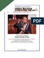 PRESIDENTE CONSTITUCIONAL DE LA REPÚBLICA BOLIVARIANA DE VENEZUELA