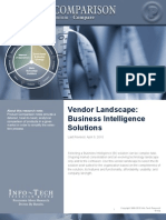 Vendor Landscape Business Intelligence Solutions