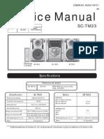 Diagrama de Servicio de PanasonicSA-TM23