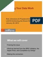 1Making Data Work - LACCD ATD Retreat 012011