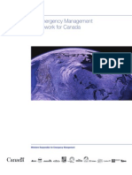 An Emergency Management Framework for Canada