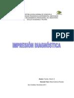 IMPRESION DIAGNOSTICA Yamely