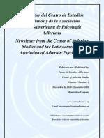 Newsletter Nº 2 Centro de Estudios Adlerianos