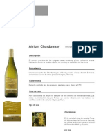 Atrium Chardonnay | Vinos | Vinos y Brandies | Torres