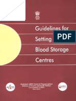 8-Guidelines for Setting Up Blood Storage Centres