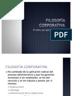 Tema 1 sesion 3 Filosofía corporativa
