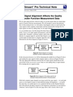 Signal Alignment and Transfer Function Measurement Data