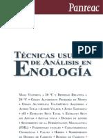 Tecnicas Usuales de Analisis en Enologia