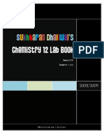 SDhaliwal Lab Book