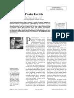 Plantar Fasciatis Information