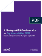 MSM and HIV-Global Report 2012