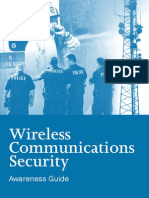 Wireless Communications Security