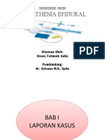 anestesi Epidural