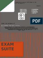 Exam Suite Ppt