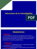 Alteraciones de La Adenohipofisis