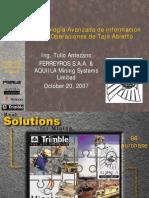 02-PL19 Tecnologia Avanzada de ion en Operaciones de Tajo Abierto-PERU