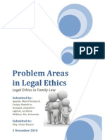 Problem Areas in Legal Ethics Final Group 1