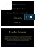 Derechos Humanos y Comunicación
