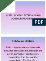INSTALACIÓN ELECTRICA EN UN CONSULTORIO DENTAL