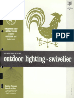 Swivelier Outdoor Lighting Catalog Bulletin 175 1964