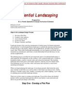 Microsoft Word - Residential Landscaping