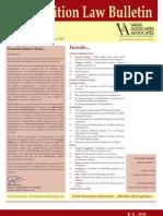 Competition Law Bulletin (Nov-Dec 2011)