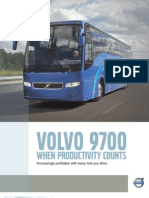 Volvo 9700 (Specification Highlights)