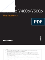 Lenovo Y560P User Manual