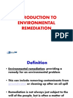 Lecture on Remediation