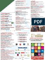 Carnevale Viareggio 2012 - programma completo