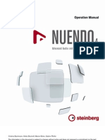 Nuendo 4 Operation Manual English