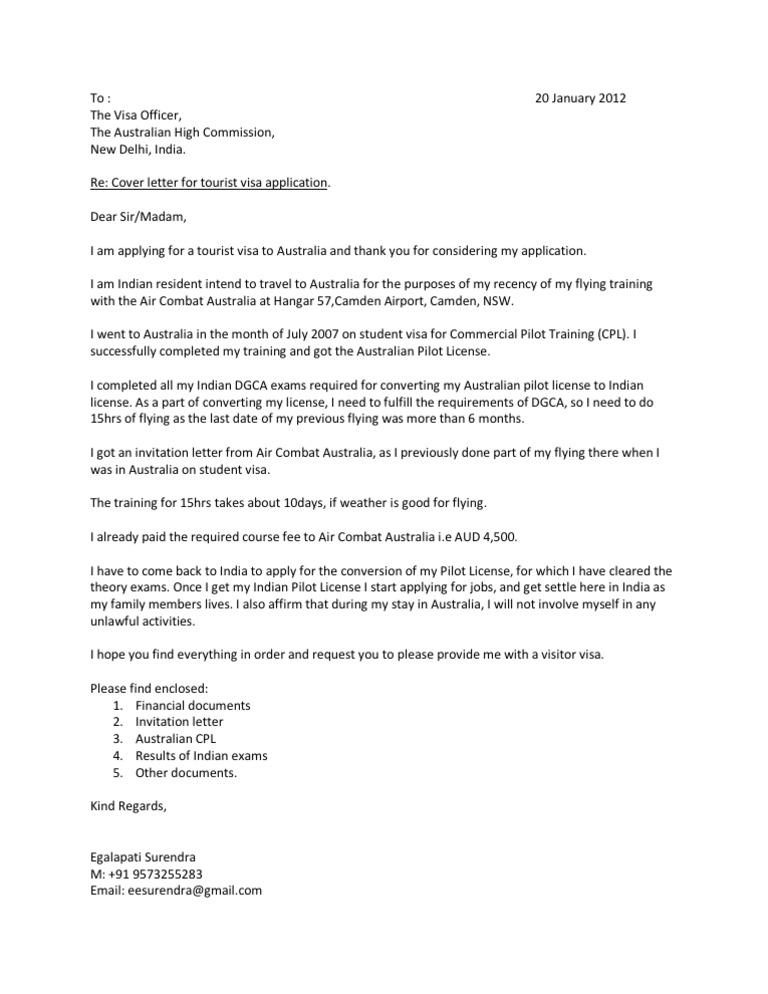 h1b visa cover letters