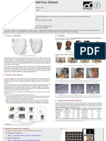 The Florence 2D/3D Hybrid Face Dataset