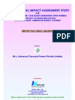 Universal Crescent Power P Ltd EIA Report Part I