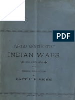 Urban East Hicks--Yakima and Clickitat Indian Wars, 1855 and 1856 (c1886)