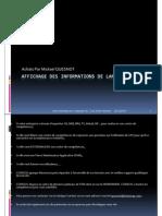 GU_SAP ECC6_Affichage Des In Formations de Lancement