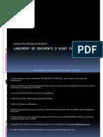 GU_SAP ECC6_Lancement de Documents d'Achat Externes